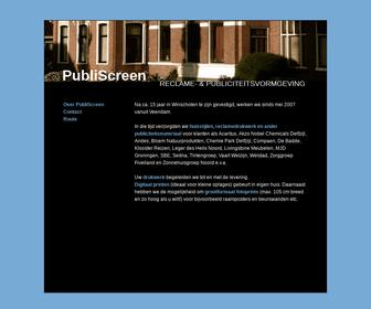 http://www.publiscreen.nl