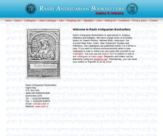 Antiquariaat Rashi