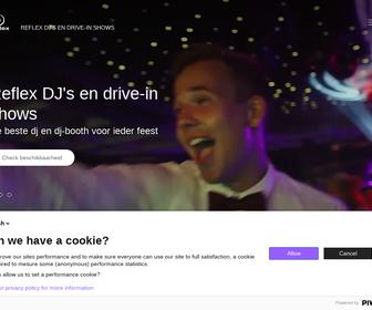Reflex Drive-In Shows, dj's en entertainment