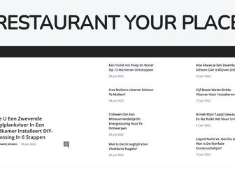 Restaurant Your Place