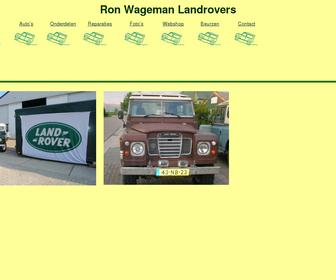 Ron Wageman Classic Cars and Landrovers