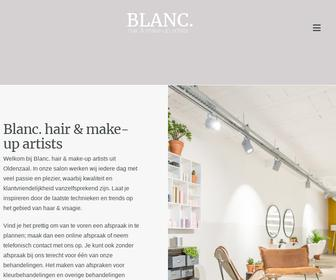 Blanc. hair & make-up artists