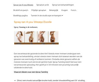 http://www.spraytan4you.nl