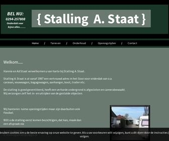 Stalling A. Staat