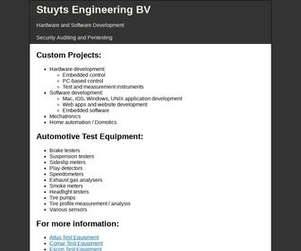 Stuyts Engineering Haarlem B.V.