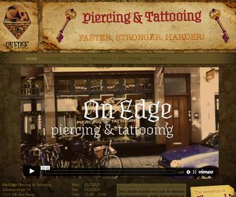 On Edge Piercing & Tattooing