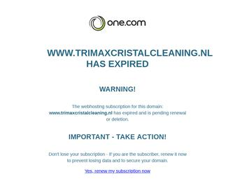 Trimax Cristal cleaning