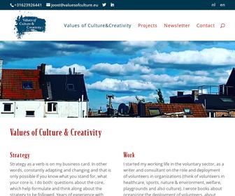 Values of Culture&Creativity