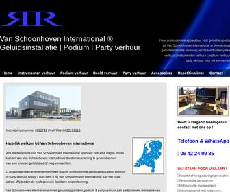 Van Schoonhoven International