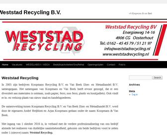 Weststad Recycling B.V.