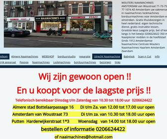 Wouters Naaimachines
