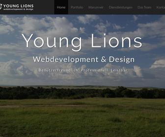 Young Lions | web development & design