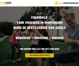 Your Goals - Personal Trainer Amsterdam
